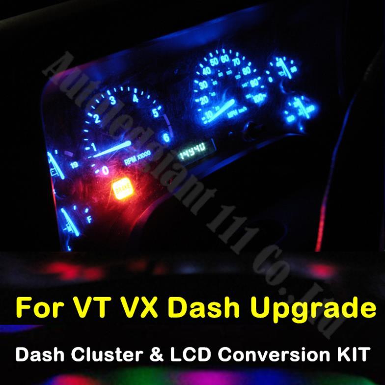 Света автомобиля 5 цветов калибр приборной панели инструментов для VT VX кале Berlina из светодиодов в-dash кластера и набор преобразования