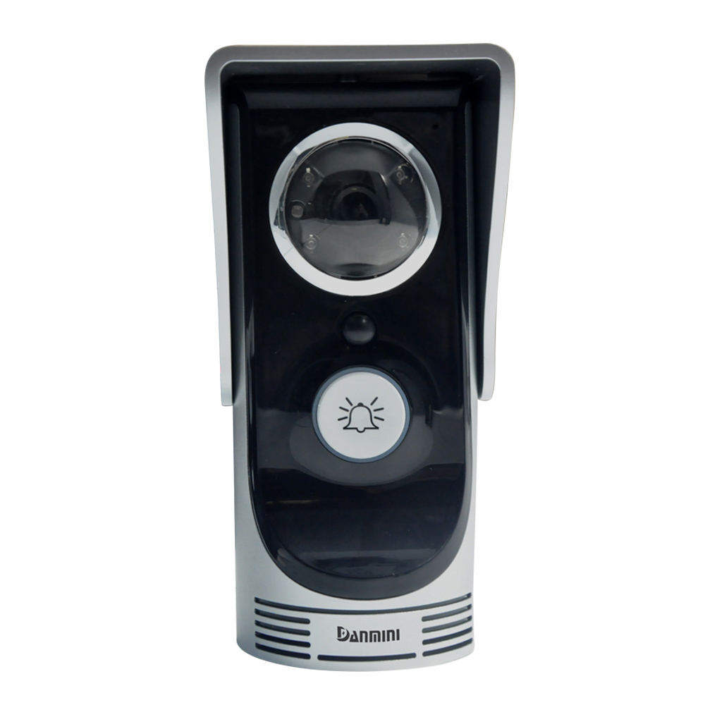 720P 2.0MP Wifi Doorbell Camera Wireless Video Intercom Door Phone Peehole Camera Door bell IOS Android Phone APP Control(China (Mainland))