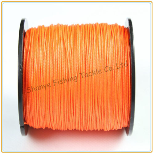 Free shipping 300LB 1.2mm 8 Strands 500M PE Braided Fishing Line Factory Price --SUNBANG(China (Mainland))