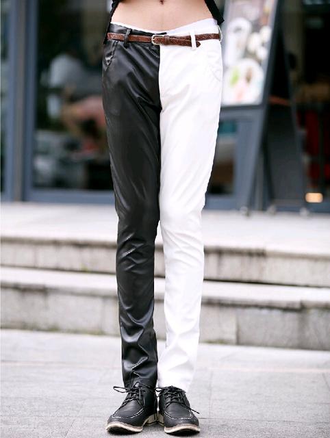 New Polo 2014 Deisgner Punk Men Pants Casual Mens Skinny Black ...