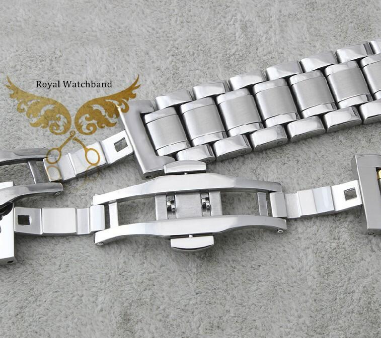 Высококачественный браслет для часов из нержавеющей стали различного размера 14-21мм