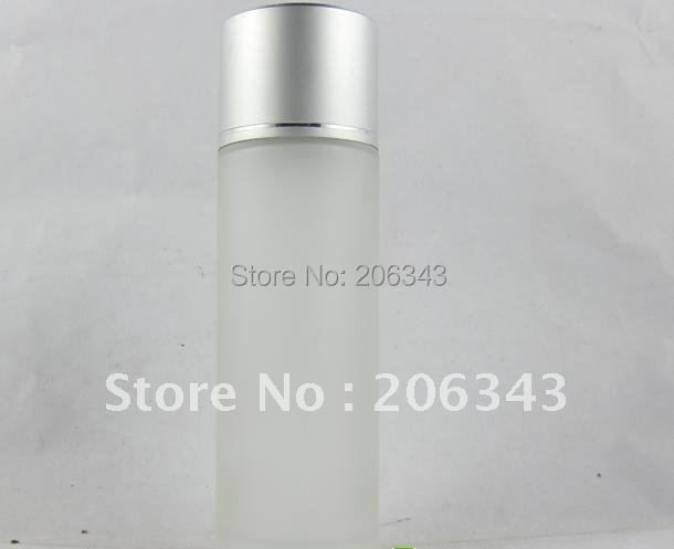 100ml frosted glass ,,lotion bottle , Cosmetic Packaging,glass bottle(China (Mainland))
