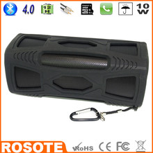 Free Shipping 2015 Waterproof 10W Super Bass Portable HI-FI water proof new Bluetooth 4.0 speaker