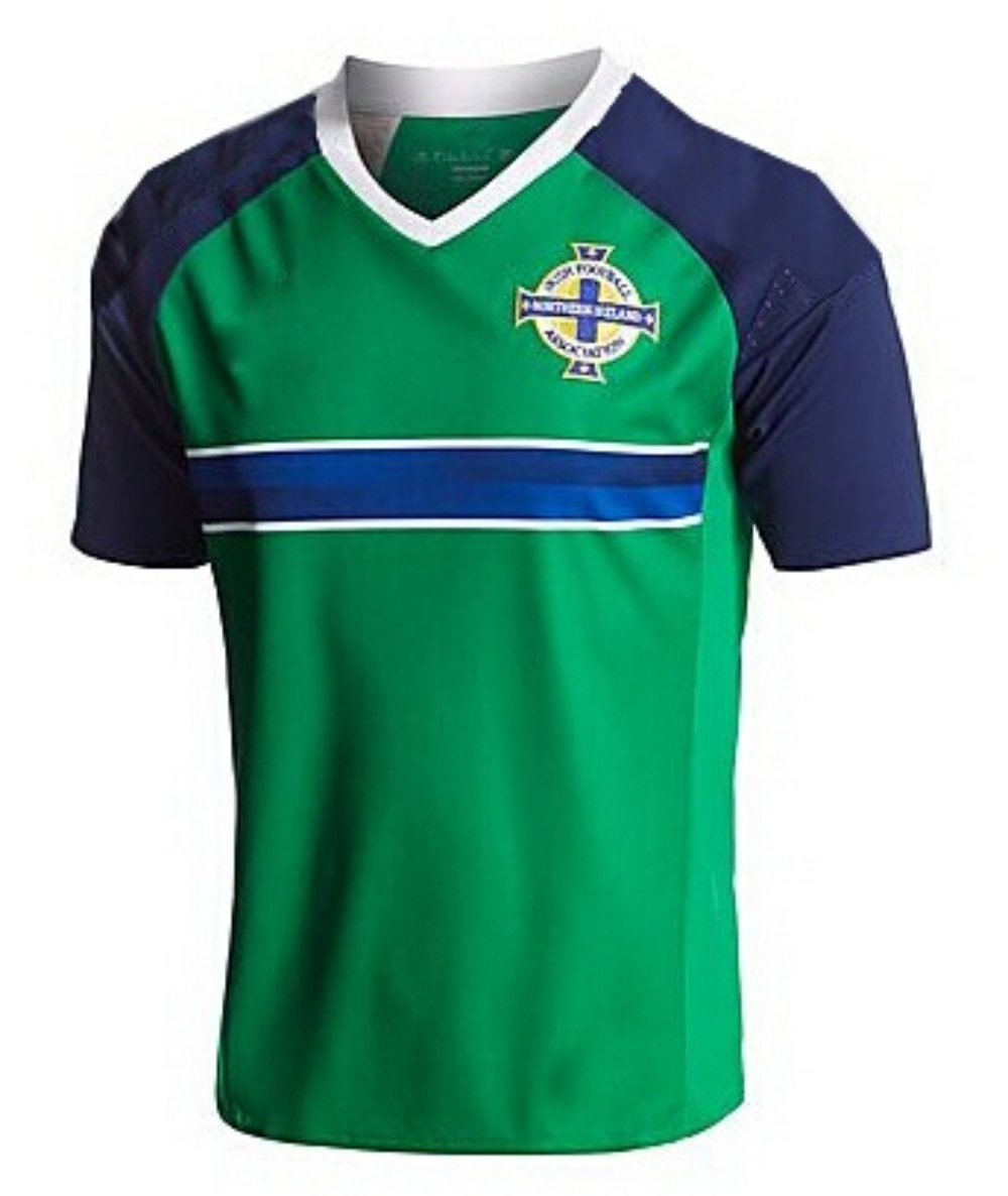 2016 Northern Ireland Soccer Jerseys High Quality Northern Ireland Football Jersey Customized Short Sleeve Soccer Jersey Men(China (Mainland))