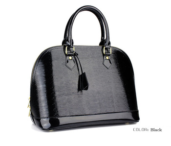 2015 Fashion Women Wedding handbag,Patent Leather Ladies shoulder bag,tote bag Free Shipping