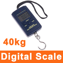 40KG x 20g Portable Mini Electronic Digital Scale Hanging Fishing Hook Weighing Scale