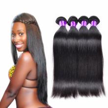 Hot Grace hair products 6A grade unprocessed virgin mongolian hair straight hair 5 bundles 100% human hair wholesale price