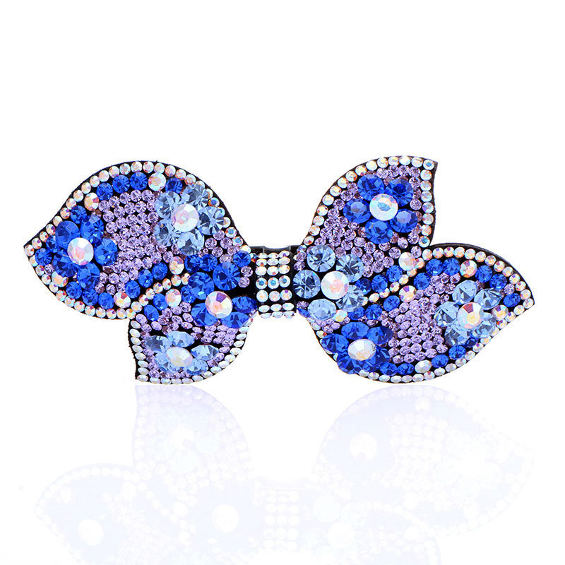 High Quality New Style 2015 Trendy Hair Accessories Bows Silk Hair Clip For Women(China (Mainland))