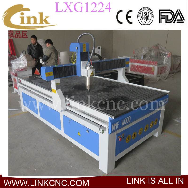World popular ! 1224 wood lathe machine cnc router 4 axis ( can add rotary axis and water tank)(China (Mainland))