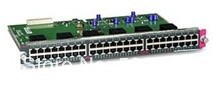 100% New licensed cisco WS-X4548-GB-RJ45 48-port Gigabit Switch Interface Card(China (Mainland))
