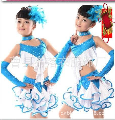Childrens Latin dance costumes<br><br>Aliexpress