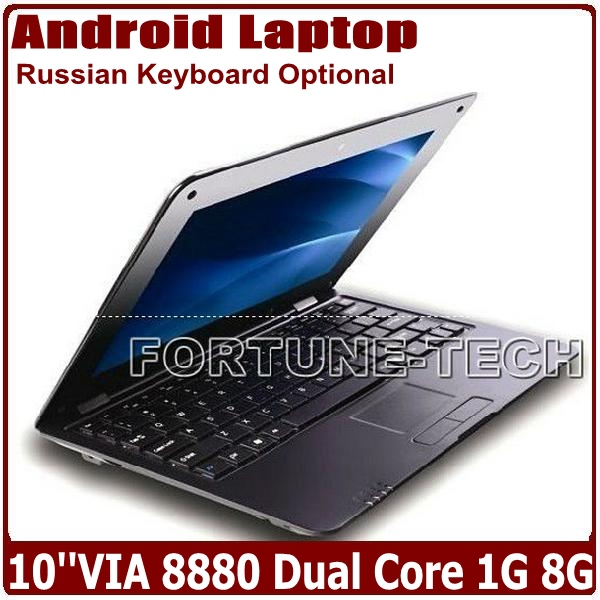 10.1Inch Android 4.2 VIA 8880 Cortex A9 Dual Core 1.5GHZ MINI Netbook Laptop with WIFI 1GB 8GB Ethernet External 3G HDMI 1080P(China (Mainland))