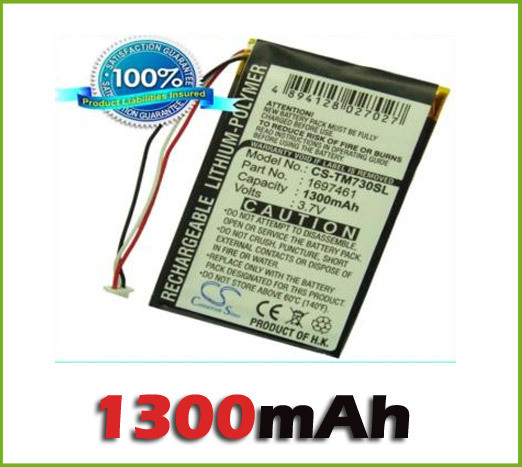 GPS Battery For TomTom Go 530, 630, 720, 730, 730T, 930 new free shipping(China (Mainland))