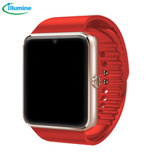 2016 Hot sell GT08 Bluetooth smart watch for Apple /Ios /android phone support SMI/TF men women sport wristwatch