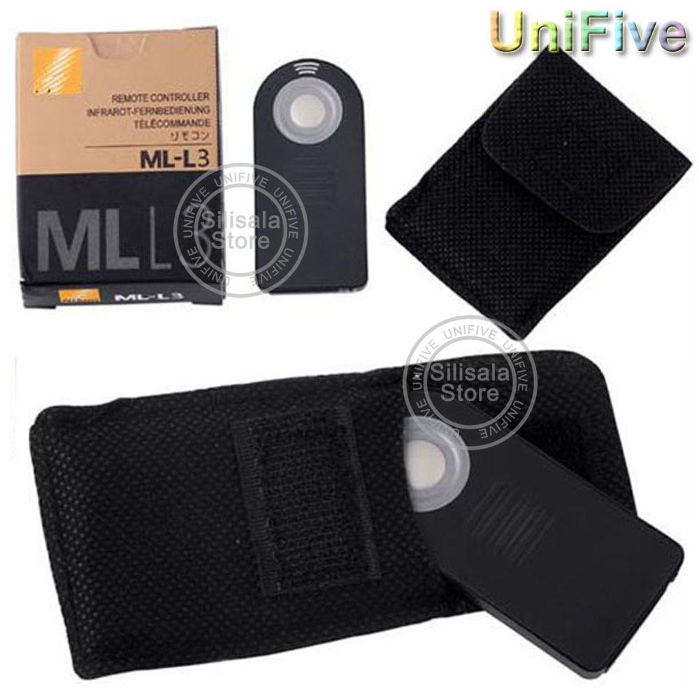 Box ML-L3 MLL3 Wireless Camera Shutter Remote Control For Nikon DSLR V2 J2 J3 D90 D3200 D7100 D7200 D5300 D5200 D610 D600 D7200(China (Mainland))