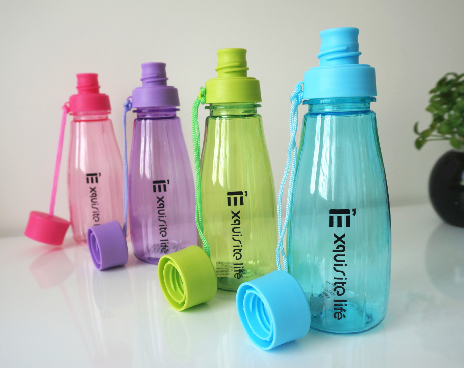 Creative small gifts soda bottles water flask my portable space water bottles fashion sports bottle plastic leakproof water cups(China (Mainland))