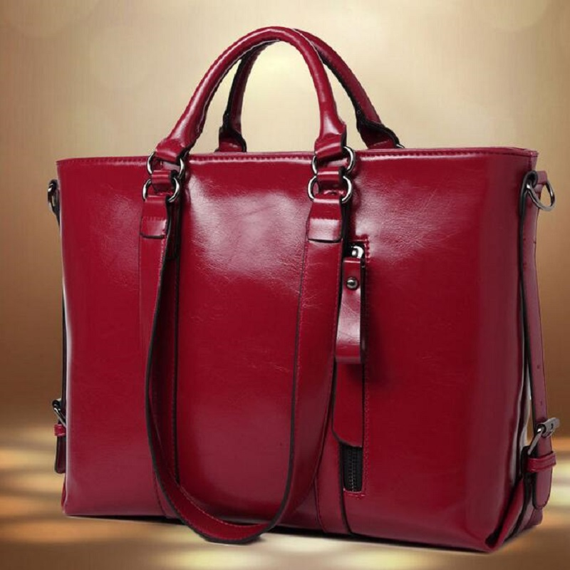 2015 Women Handbag Genuine Leather Bag Lichee Pattern Shoulder Bags Bolsas Femininas Crossbody Tote Fashion Women Messenger Bags