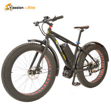 "Passion ebike  26"" x 4.0 fat tire 48V 1000W  with BBSHD/BBS03 bicicleta electrica electrical bicycle electric bike with battery(China (Mainland))"