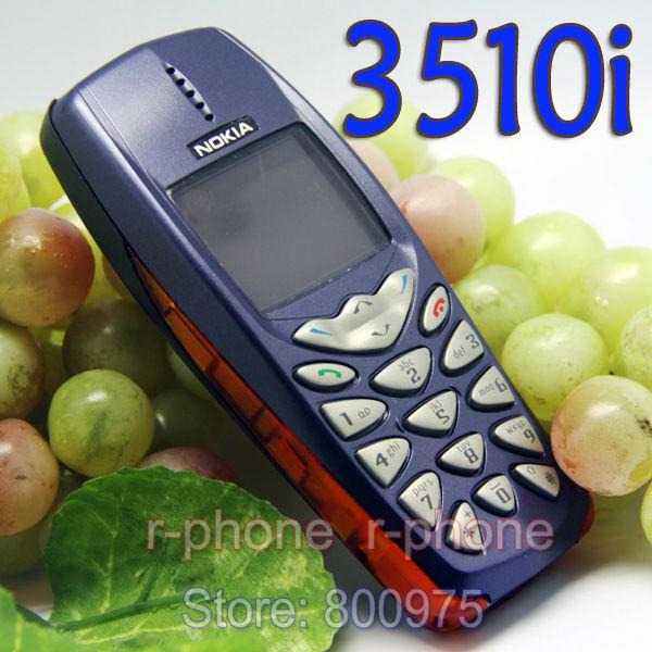Cheap Phone 3510i Original Refurbished NOKIA 3510i Cell Phone Unlocked & Gift Arabic keyboard(China (Mainland))