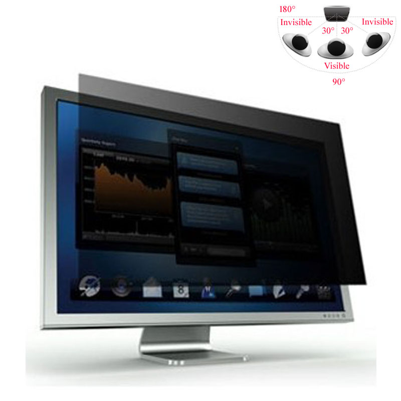 """19"""" Privacy Screen Protective Film For WideScreen(16:10) LCD Screen/Desktop/Computer Monitor, Free Shipping(China (Mainland))"""