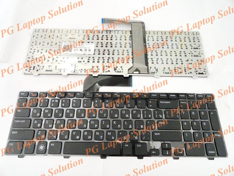 Russian Keyboard for Dell 15R N5110 M5110 N 5110 m511r m501z 0NKR2C NKR2C NSK-DY0SW 0R MP-10K73SU-442 V119625AS1 Black(China (Mainland))
