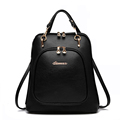 New ladies PU Leather Backpacks Women Casual Travel Embossing School Backpack Shoulder Bag