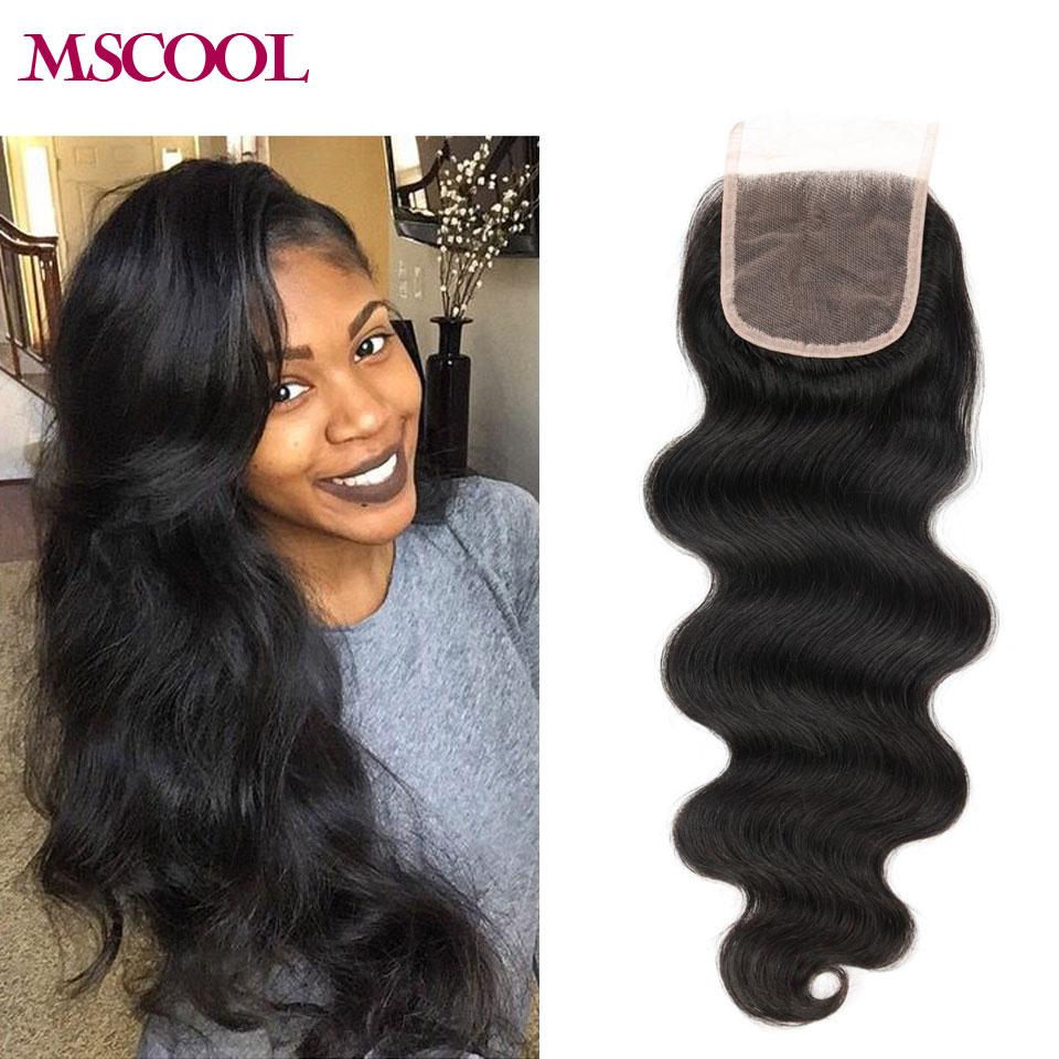 Best Virgin Mongolian Closure Body Wave Brazilian Lace Closure Bleached Knots closures Free/2/3Part Virgin Human Hair Closure 10<br><br>Aliexpress