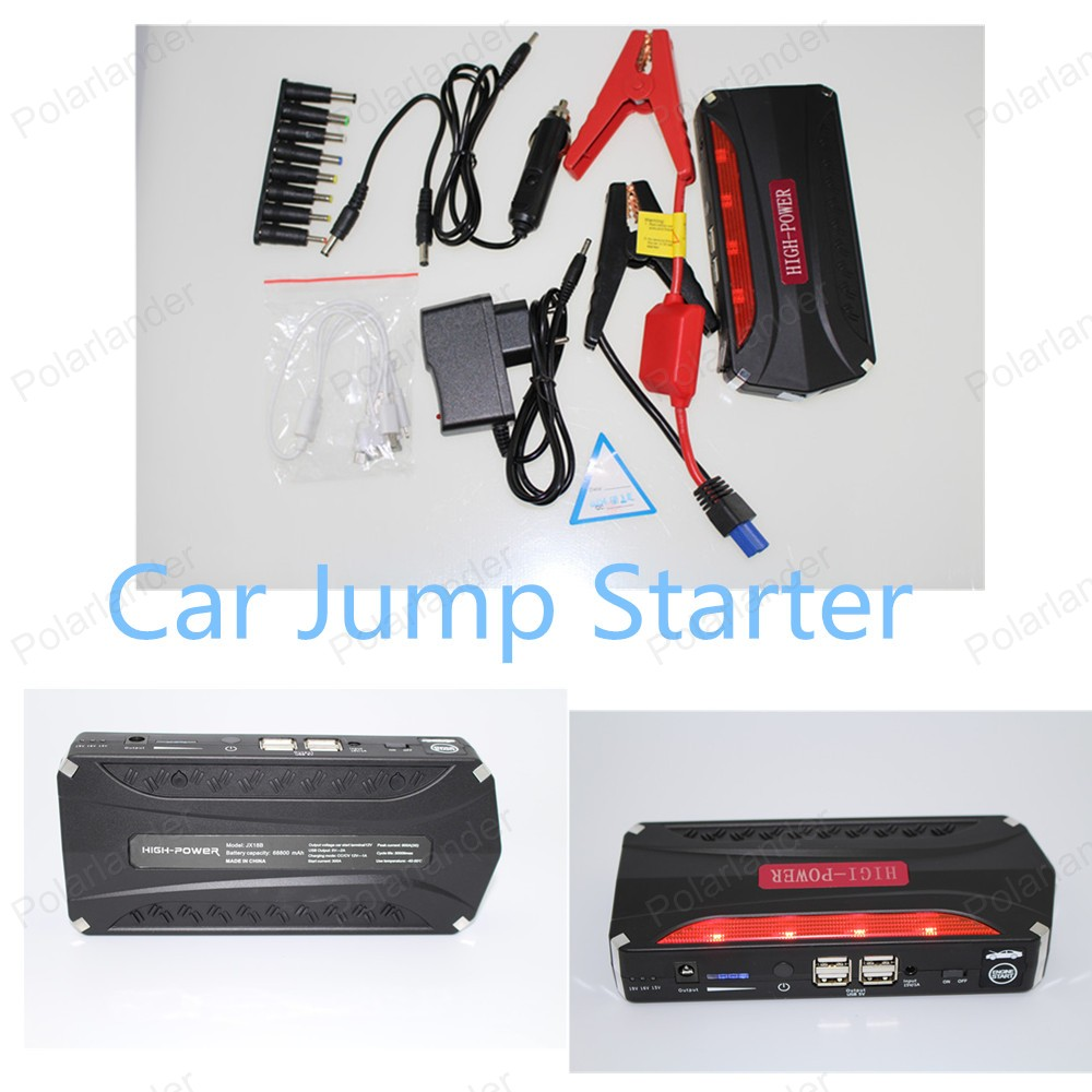 Car power bank  Upgraded super power 68800 mAh 12 V Multi-function Jump Starter Car Emergency Power Bank Battery Charger  <br><br>Aliexpress