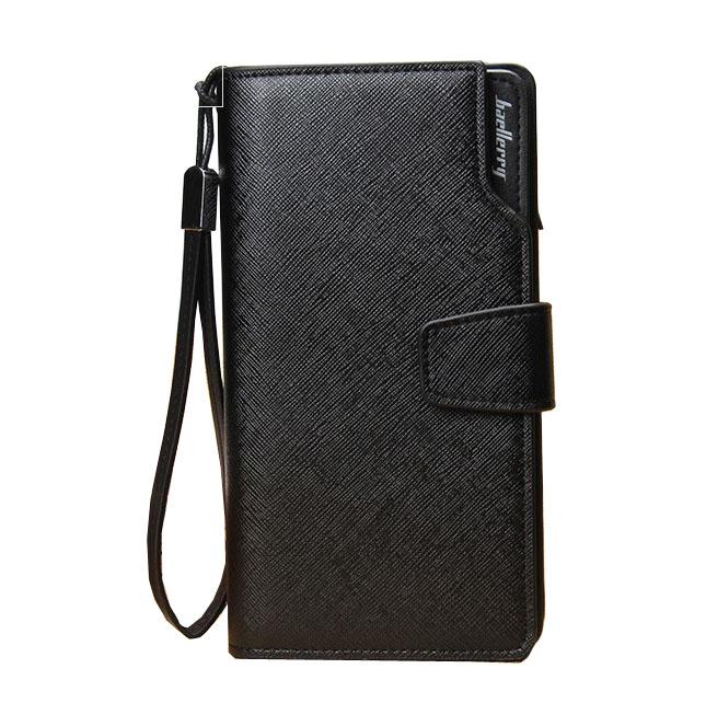 Top Brand Men Clutch Purse Hasp Long Business Wallet Male Wristlet Clutch Bag Wallet Men Card Holder(China (Mainland))