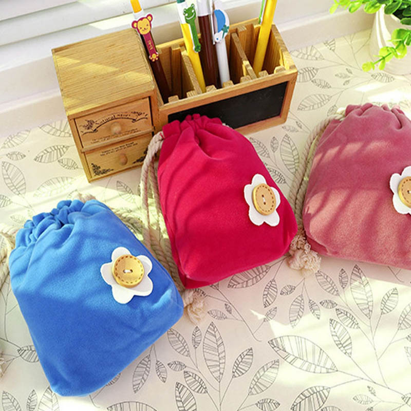 New Arrival Pen Pencil Storage Bag Beam Port Colorful Change Small Bags Pink Blue Green For Kids Children To Storages To School(China (Mainland))