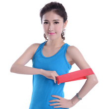 Resistance Band Light Med Heavy Exercise Yoga Exercise Tubing gib
