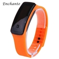 ENCHANTE Smart Wristband LED Screen Silicone Bracelet Wearable Smart Watch for Sports With Time And Date