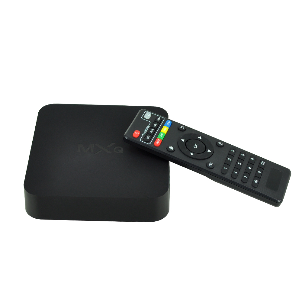 2015 New MXQ TV BOX MX Amlogic S805 Quad Core IPTV Android 4 4 TV box
