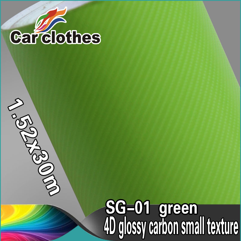 High Quality Car Film 1.52 *30 Decals Stickers For Car  Flexible Mirror Carbon Fiber Wrap Glossy<br><br>Aliexpress