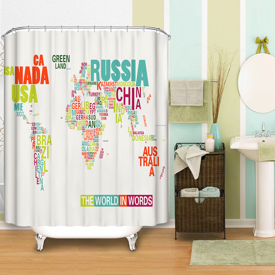 Popular unique shower curtains buy cheap unique shower for Unique shower curtains cheap