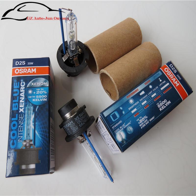 2pieces/lot) 66240CBI Osram D2S 12V 35W 5500K 66040CBI Cool Blue