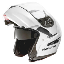 Marushin M409 Motorcycle helmet Off-road racing helmets Motocross capacete Undrape face helmet for man and woman swith visor