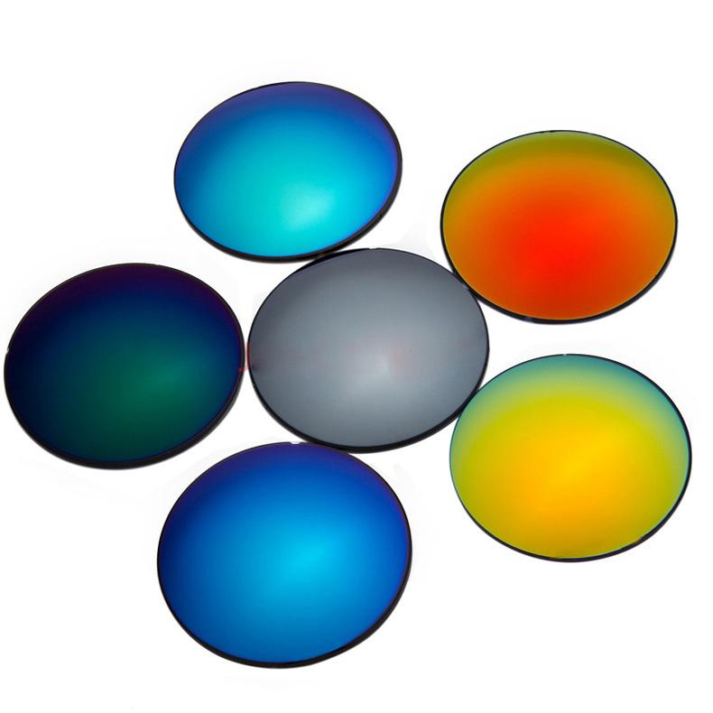 1.67 Thin Polarized UV 400 Protection Colorful Sun Lenses Prescription Mercury Sunglasses Myopia Lenses(China (Mainland))