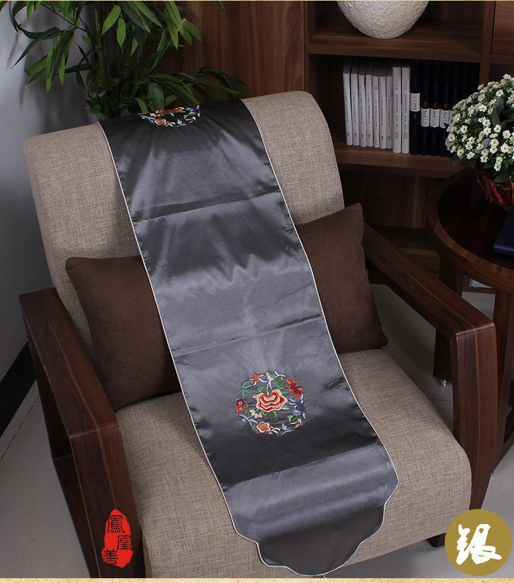 wholesale-BRAND-NEW-TOP-Noble-CHINESE-Handmade-EMBROIDERED-SILK-TABLE-RUNNER-BED-FLAG(2)