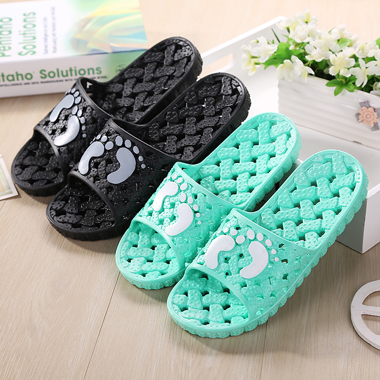 Lovers Indoor Slippers Men Summer Casual Comfort  Beach Shoe Bathroom Shoes (Please Select One Size Larger For Home Slippers)<br><br>Aliexpress