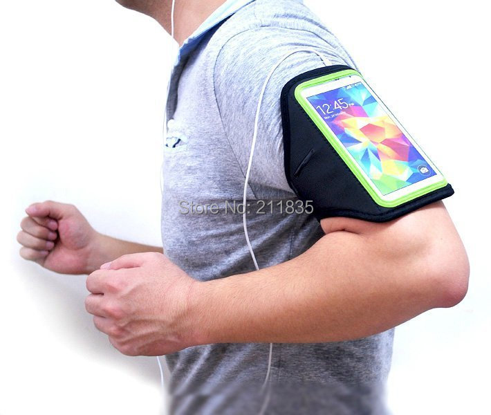 Running Sports Polyester Fibre Armband Case Arm Bag Holder Case For Samsung Galaxy S3/S4/S5 i9300 i9500 i9600 Gift!(China (Mainland))
