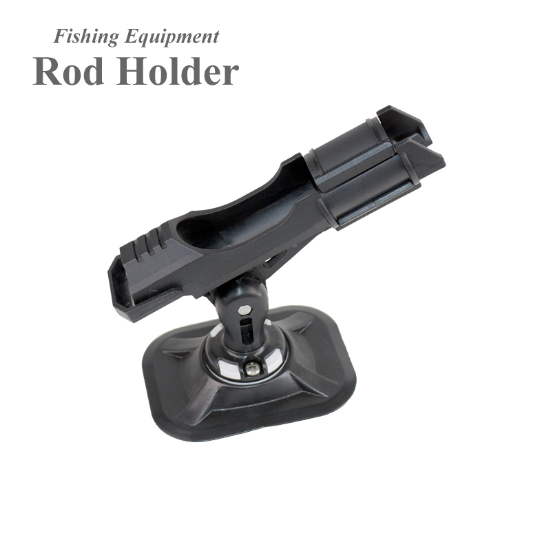 fishing pole rod holder pvc inflatable boat fishing accessories sup board kayak clamp holder for boat angle direction adjustable(China (Mainland))
