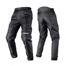 DUHAN Men's Windproof Motorcycle Enduro Riding Trousers Motocross Off-Road Racing Sports Knee Protective Sports Pants(China (Mainland))