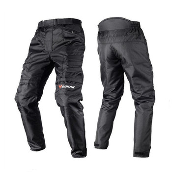 DUHAN Men's Windproof Motorcycle Enduro Riding Trousers Motocross Off-Road Racing Sports Knee Protective Sports Pants