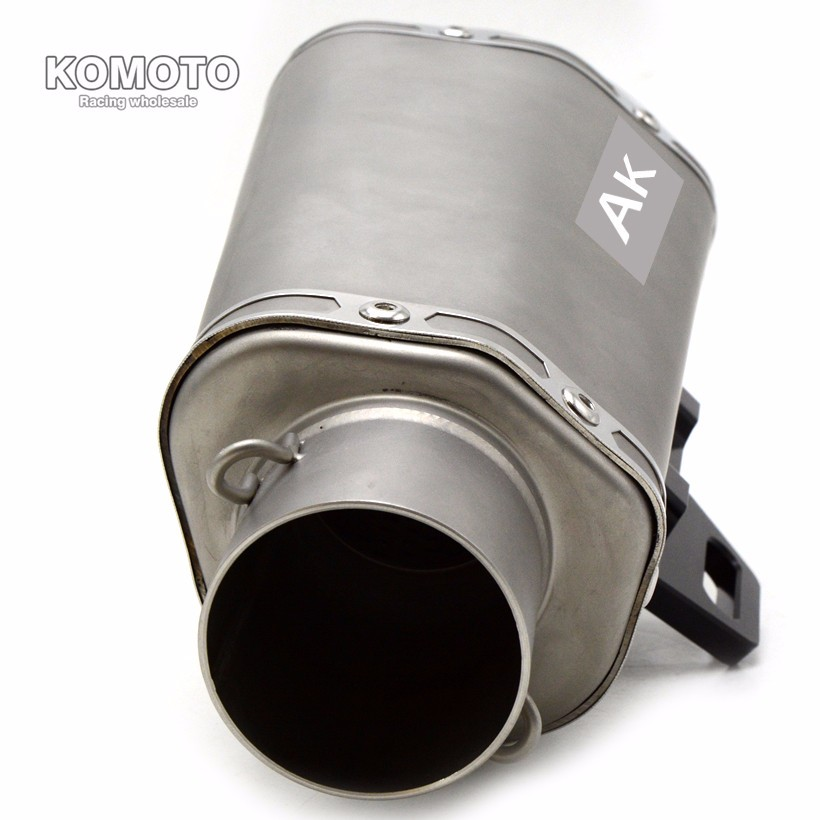 High Quality Motorcycle  Akrapovic Exhaust Muffler escape pipe For For HONDA CBR600RR 2007-2014