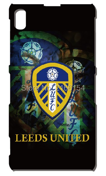 Leeds United phone case For Sony Xperia Z Z1 Z2 Z3 Z4 Z5 For Huawei Honor 6 7 6X Ascend P6 P7 Mini P8 P9 Lite Mate 7 8 Cover(China (Mainland))