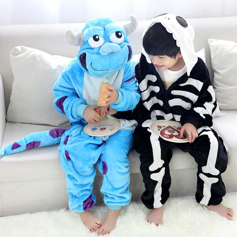 Кигуруми Дети Лев Onesie забавная Пижама мальчики девочки партии Хэллоуин костюм 4