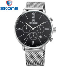 Clear Watch Relogio Masculino Top Brand Luxury Mens Watches Military Sport Clock Chronograph Wrist watch Quartz Watch(China (Mainland))