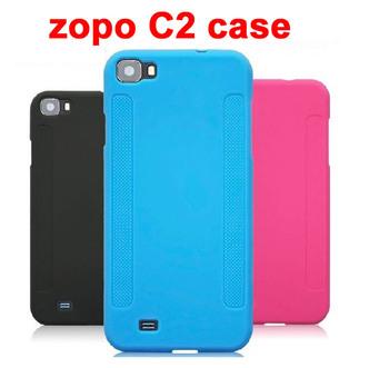 Original Silicon Case For zopo c2 cover case zp980 Silicone case Mobile Phone mtk6589 quad core Free shipping