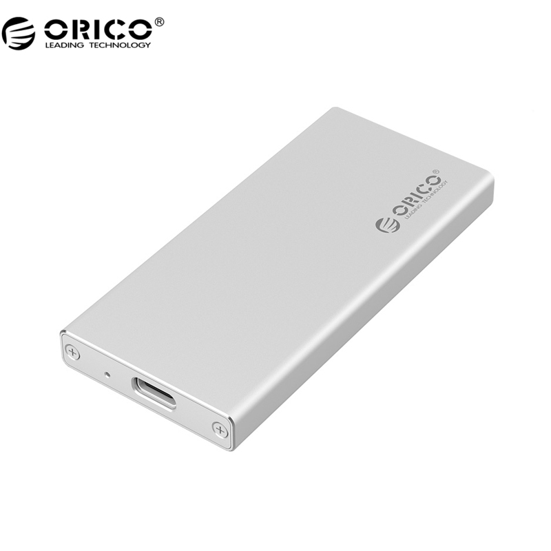 ORICO Aluminum mSATA to USB 3.0 SSD Enclosure Adapter Case, Built-in ASM1153E Controller - Silver (MSA-UC3)(China (Mainland))